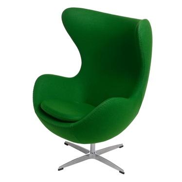 Cocoon Designer Armchair Green