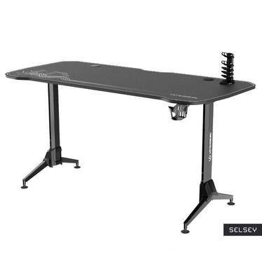 Furox Gaming Desk Black / White