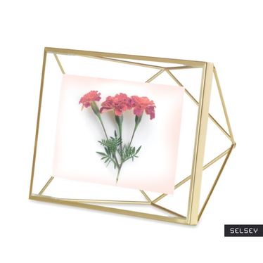 Prism Golden Picture Frame 10x15 cm