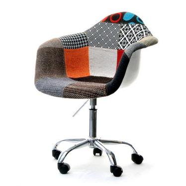 Hunter Patchwork Swivel Chair