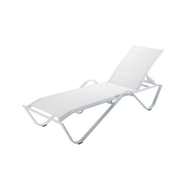 Sand White Deckchair