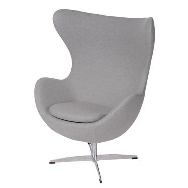 Cocoon Designer Armchair Light Grey