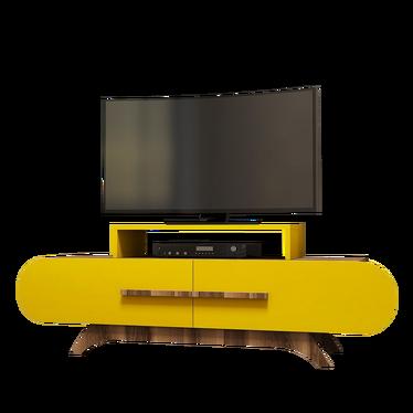 Ovalia Yellow TV Stand 145 cm