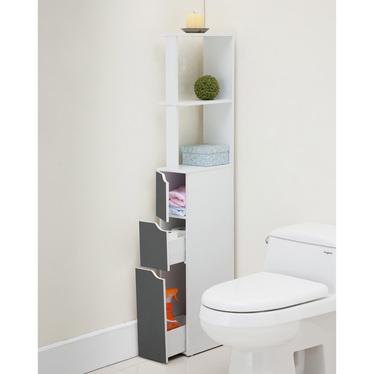 Carinda Grey Bathroom Storage Unit
