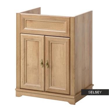 Orsay Oak Bathroom Vanity Unit 60 cm