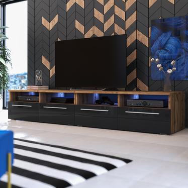 Phiris Double TV Stand 2x100 cm