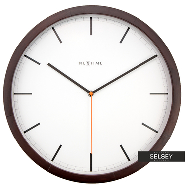 Company Wooden Wall Clock