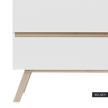 Thorita Scandinavian 2 Drawer Sideboard
