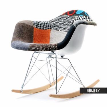Roxy Patchwork Rocking Armchair