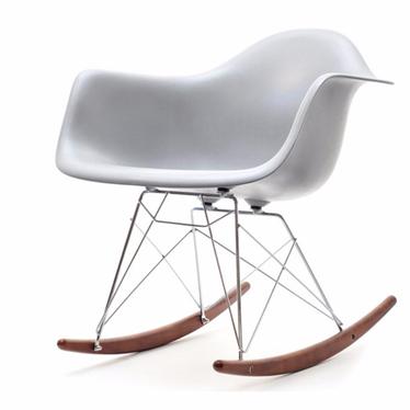 Roxy Grey Rocking Armchair