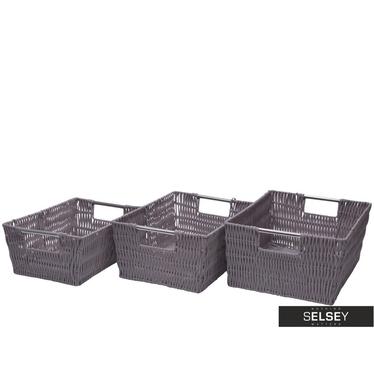 Simple 3 Piece Basket Set