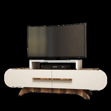 Ovalia Cream TV Stand 145 cm