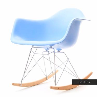 Roxy Blue Rocking Armchair