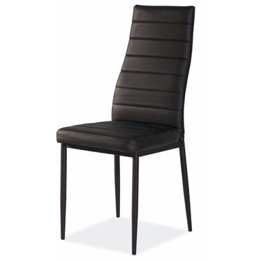 Lastad Upholstered Black Chair