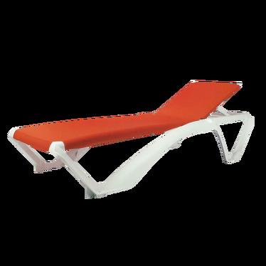 Marina Orange Deckchair