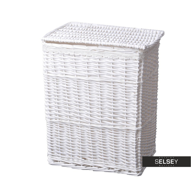 Margaret Wicker Laundry Basket