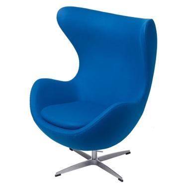 Cocoon Designer Armchair Blue