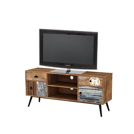 Patchwork Vintage TV Stand 120 cm