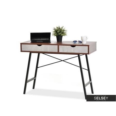 Falun Walnut Scandinavian Desk