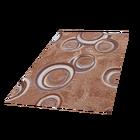 Stamp Circle Brown Carpet