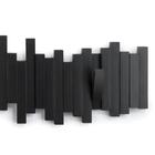 Multi Sticks Black Wall Hooks