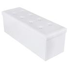 Ali White Tufted Trunk 110x38 cm