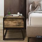 Ramizu Coffee Table with Drawer