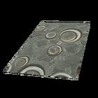 Stamp Circle Green Carpet